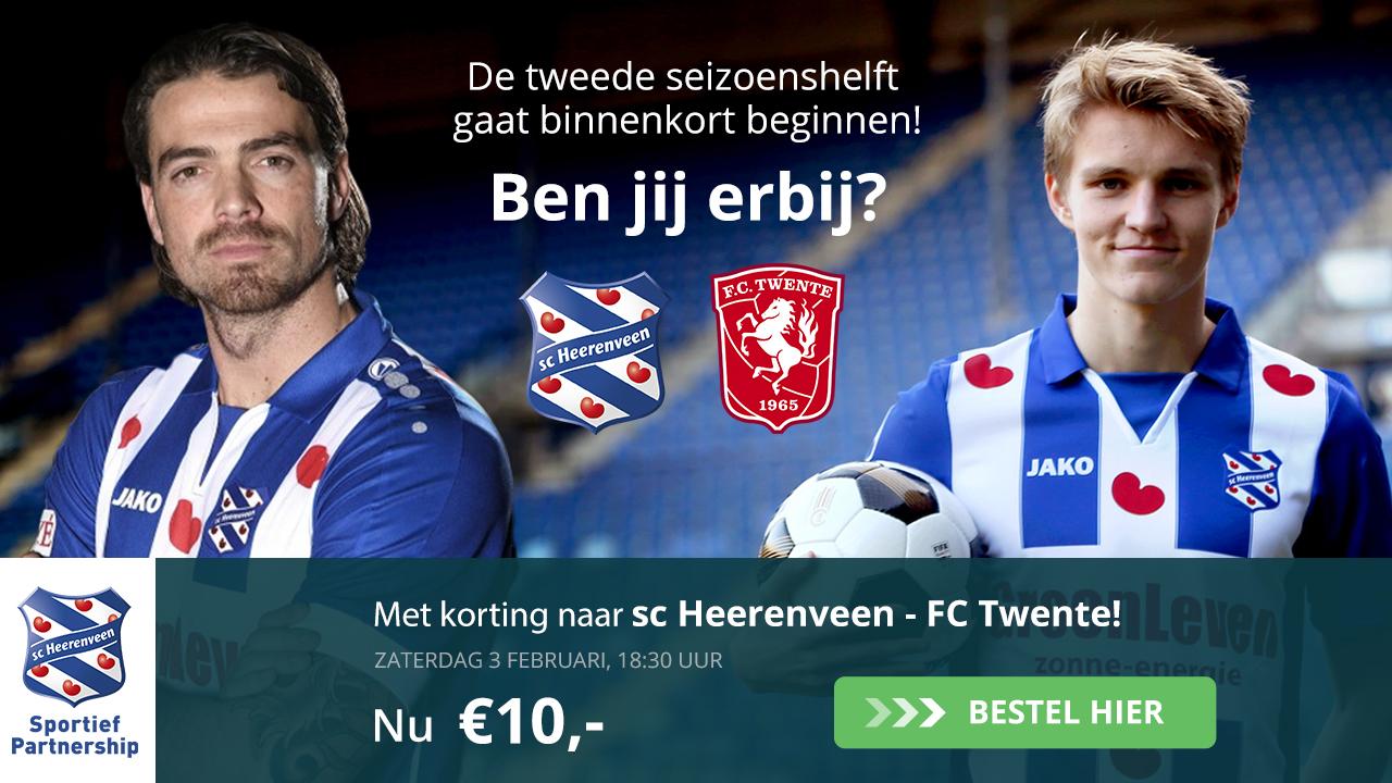 Nog 1 week: MetC.V.V.O. naar sc Heerenveen - FCTwente!