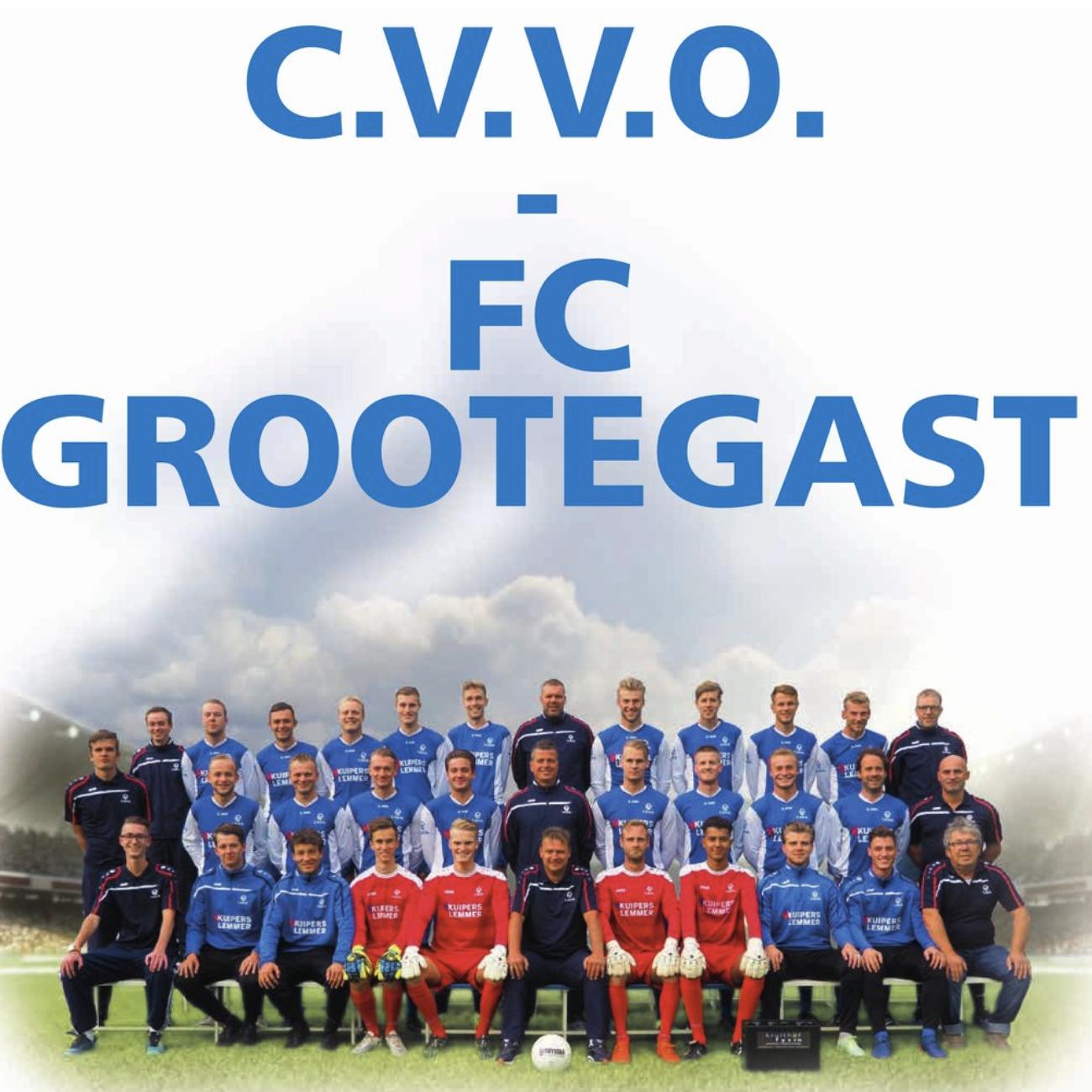 Eerste thuiswedstrijd C.V.V.O. 1 van 2018